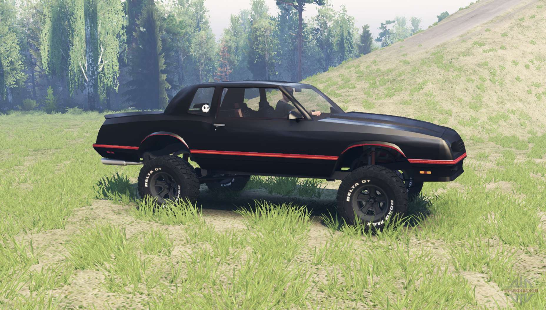 Chevrolet Monte Carlo SS 1986 for Spin Tires