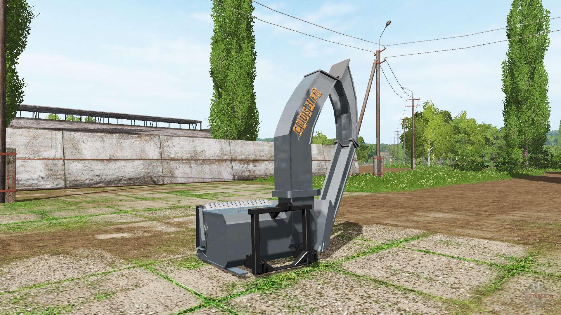 wood crusher v1 2 for farming simulator 2017. Black Bedroom Furniture Sets. Home Design Ideas