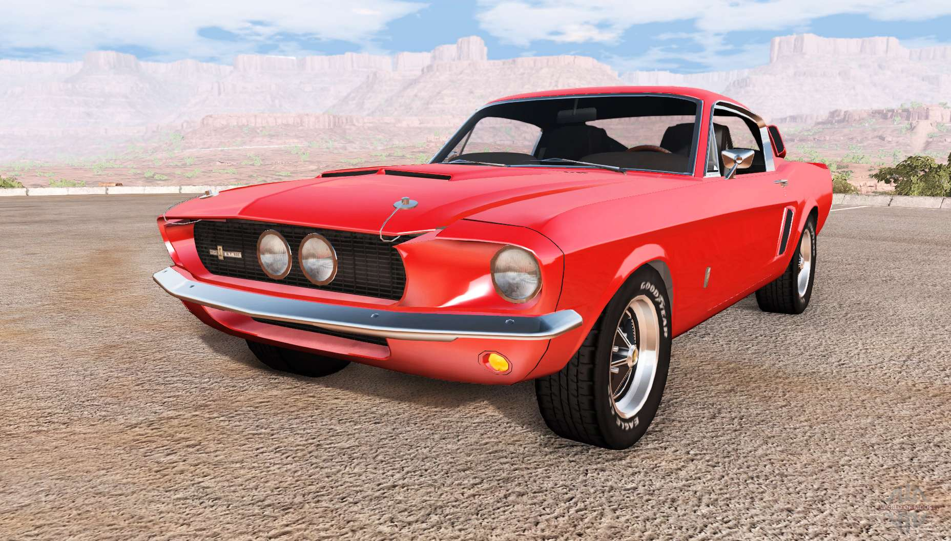 ford mustang shelby gt500 for beamng drive. Black Bedroom Furniture Sets. Home Design Ideas