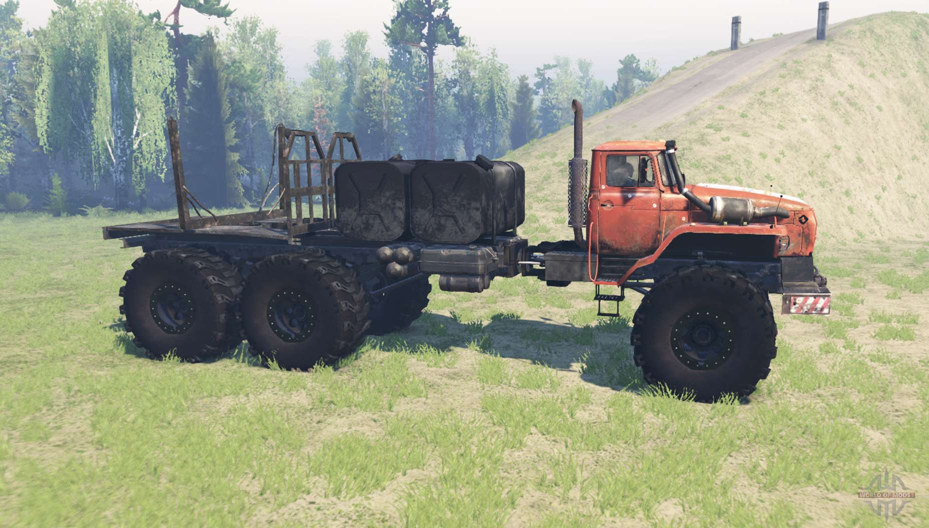 4320 polar explorer for spin tires