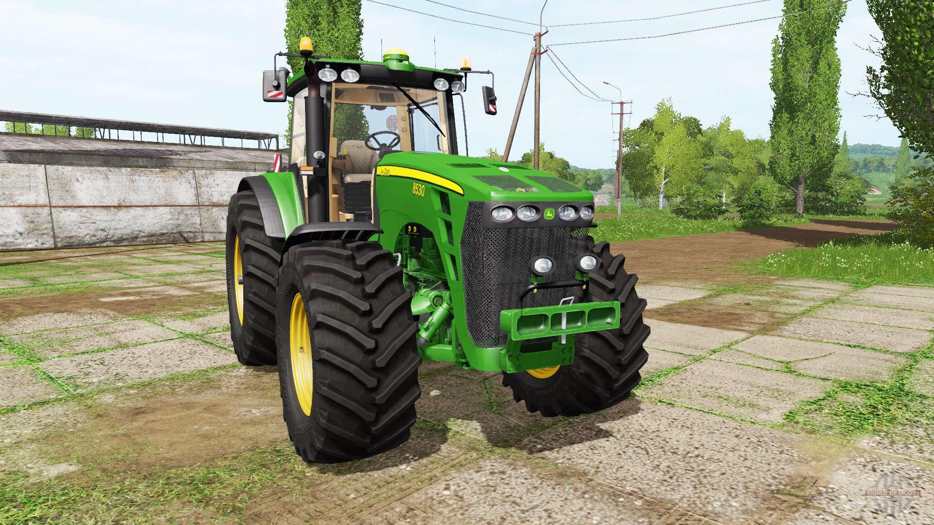 John Deere 8530 v4 0 for Farming Simulator 2017