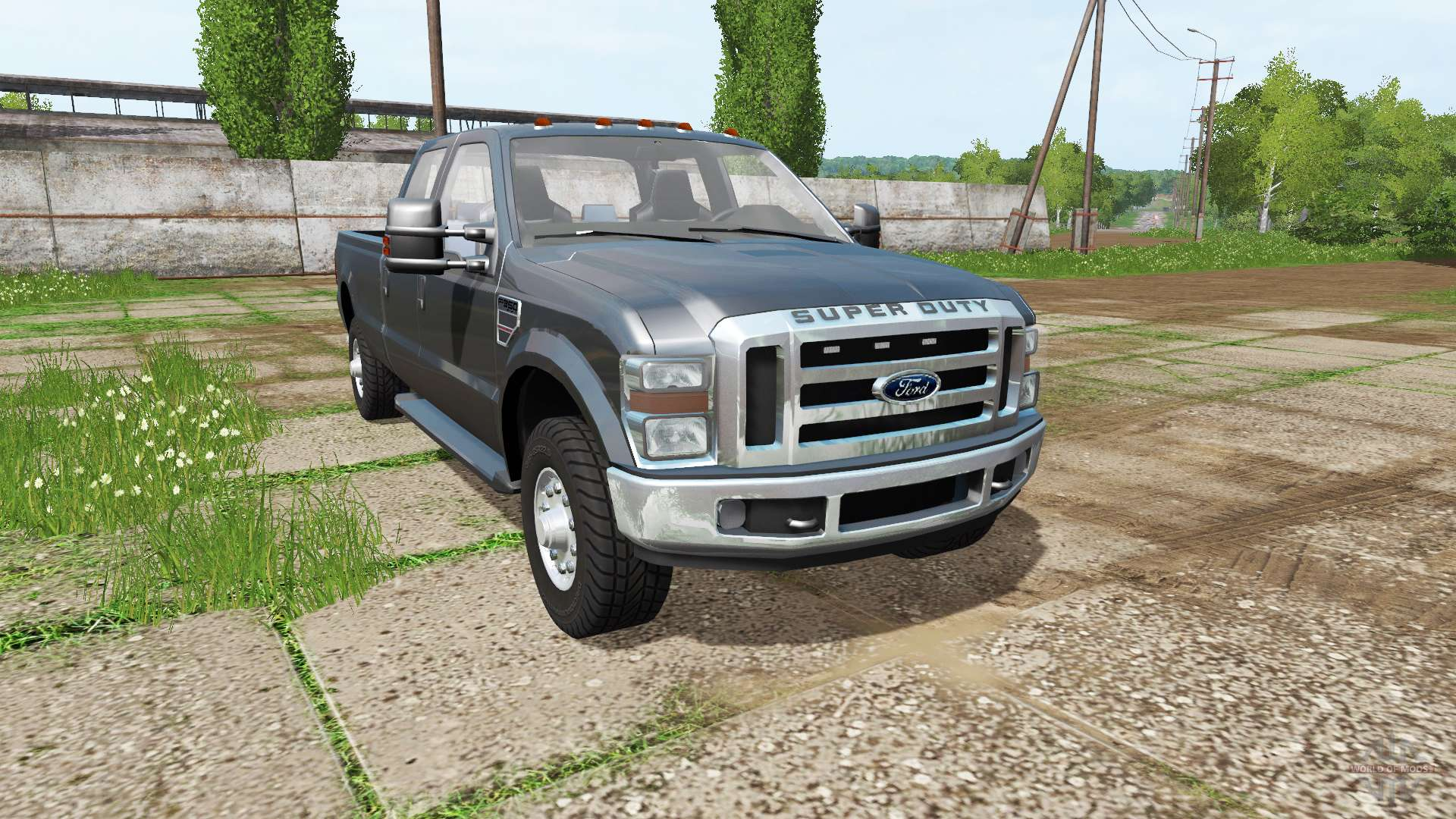 ford f 350 xlt super duty for farming simulator 2017. Black Bedroom Furniture Sets. Home Design Ideas