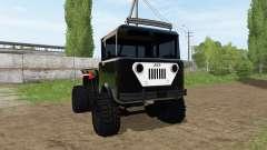 Jeep FC-170 for Farming Simulator 2017