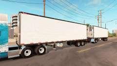 Double refrigerated trailer Great Dane