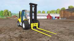 Caterpillar forklift for Farming Simulator 2015