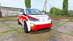 BMW i3 (I01) feuerwehr for Farming Simulator 2017