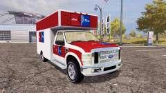 Ford F-250 cargo for Farming Simulator 2013