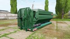 METALTECH field container v2.0 for Farming Simulator 2017