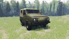 UAZ 3907 Jaguar for Spin Tires
