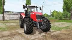 Massey Ferguson 7724 v1.1 for Farming Simulator 2017