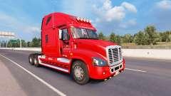 Скин States Logistics на Freightliner Cascadia for American Truck Simulator