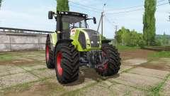 CLAAS Axion 830 v2.0 for Farming Simulator 2017
