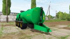Samson PG II 25 for Farming Simulator 2017