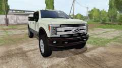 Ford F-350 Super Duty King Ranch Crew Cab for Farming Simulator 2017