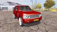Land Rover Range Rover Supercharged 2009 v2.0 for Farming Simulator 2013