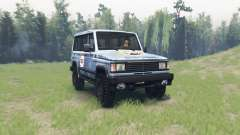 The UAZ 3170 Simbir for Spin Tires