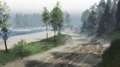The dust roads for Spin Tires