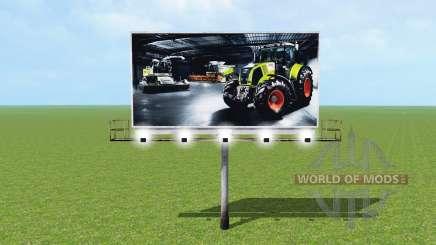 Billboard for Farming Simulator 2015