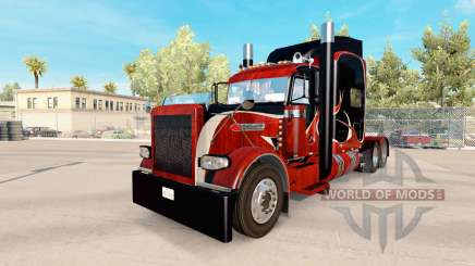 Wood skin for the truck Peterbilt 389 for American Truck Simulator