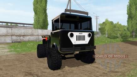 Jeep FC-170 for Farming Simulator 2017