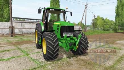John Deere 7430 v2.1 for Farming Simulator 2017