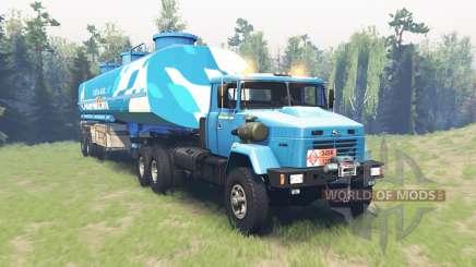 KrAZ 6446 for Spin Tires