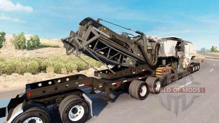 Fontaine Magnitude 55L Wirtgen for American Truck Simulator