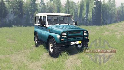 UAZ 31514 for Spin Tires
