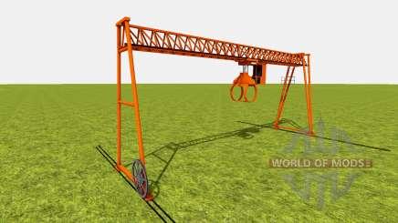 Bridge crane for Farming Simulator 2015
