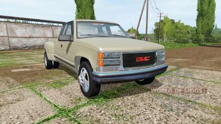 GMC Sierra C1500 Dually for Farming Simulator 2017