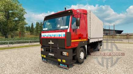MAZ 5340 for Euro Truck Simulator 2