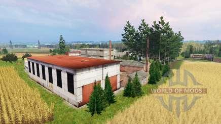 Baltic village for Farming Simulator 2015