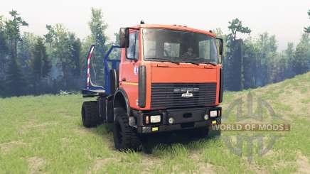 MAZ 5434 v3.0 for Spin Tires