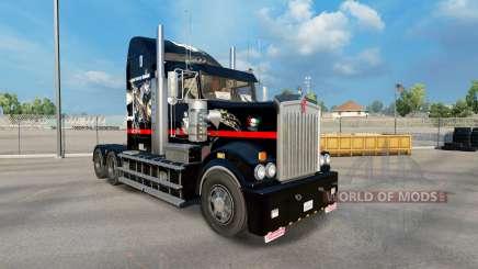 Skin Big Mama Tattoo on tractor Kenworth T908 for American Truck Simulator