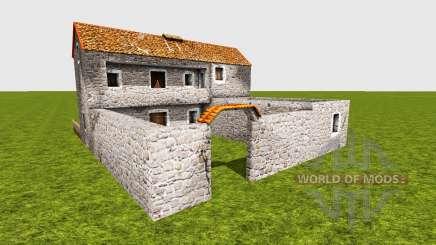 Medieval greek house for Farming Simulator 2015