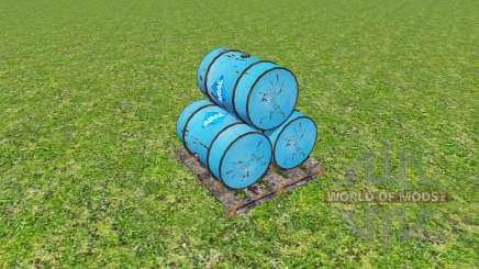 Barrels v1.15 for Farming Simulator 2015