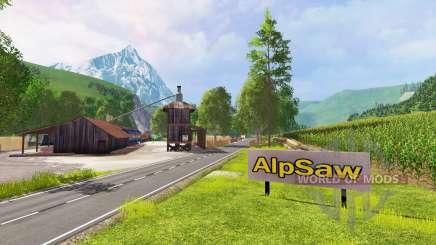 The Alps v1.026 for Farming Simulator 2015