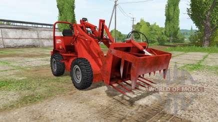 Weidemann 1502DR v2.0 for Farming Simulator 2017