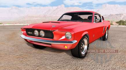 Ford Mustang Shelby GT500 for BeamNG Drive