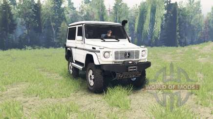 Mercedes-Benz G 500 SWB (W463) for Spin Tires