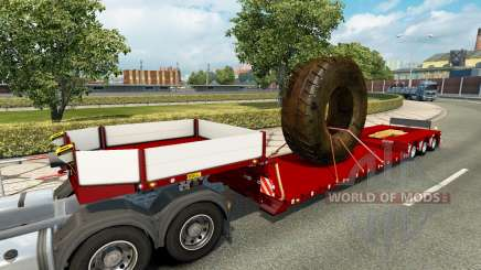 Doll Vario with big wheel v1.1 for Euro Truck Simulator 2