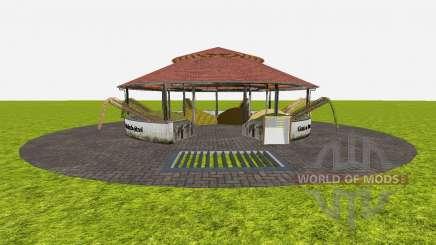Feed stores around v1.2 for Farming Simulator 2015