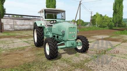 MAN 4p1 1960 v2.1 for Farming Simulator 2017