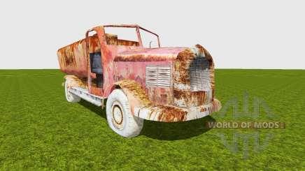 Oil truck damaged for Farming Simulator 2015
