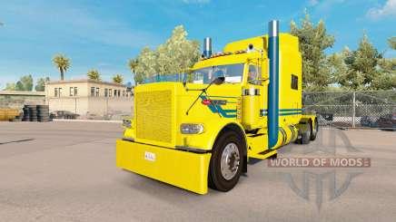 Blue streak skin for the truck Peterbilt 389 for American Truck Simulator
