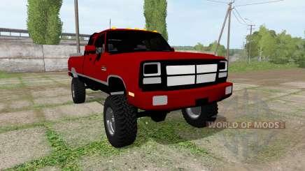 Dodge Power Ram for Farming Simulator 2017