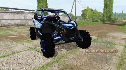 Can-Am Maverick X3 police for Farming Simulator 2017