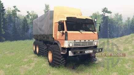 KamAZ 43114 v2.7 for Spin Tires
