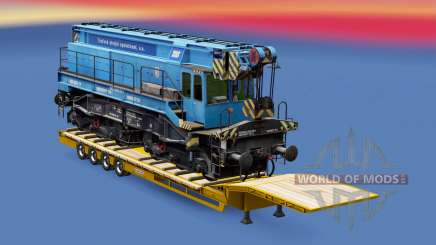 Railway cargo pack v1.7.2 for Euro Truck Simulator 2