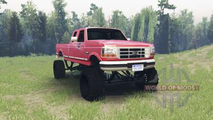 Ford F-350 1995 for Spin Tires